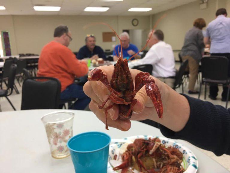 Crayfish for dinner!