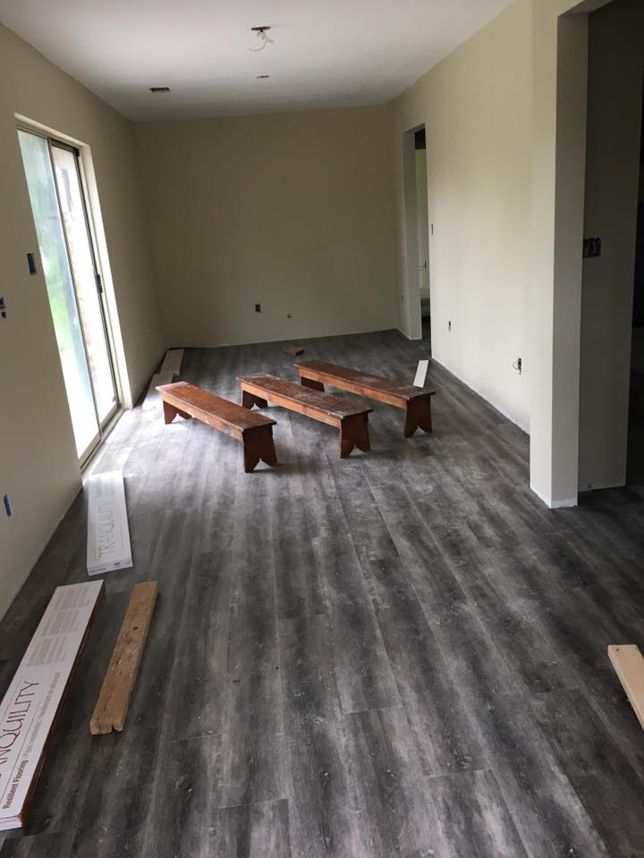Finished room